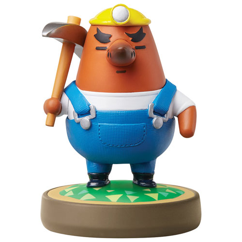 Figurine amiibo Resetti d'Animal Crossing