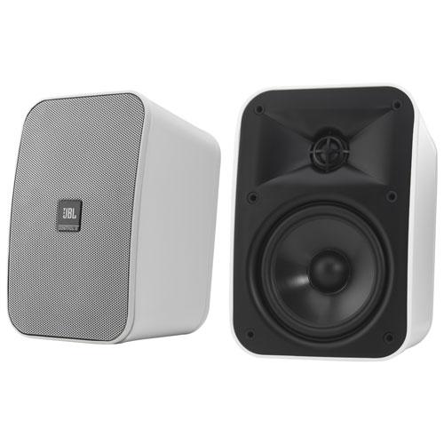 jbl wall mount speakers. jbl 200-watt indoor/outdoor control speakers - pair jbl wall mount e