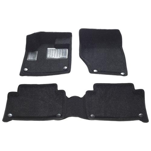 Findway 3D Floor Mats for 2007-2015 Audi Q7 (06060BB) - Black