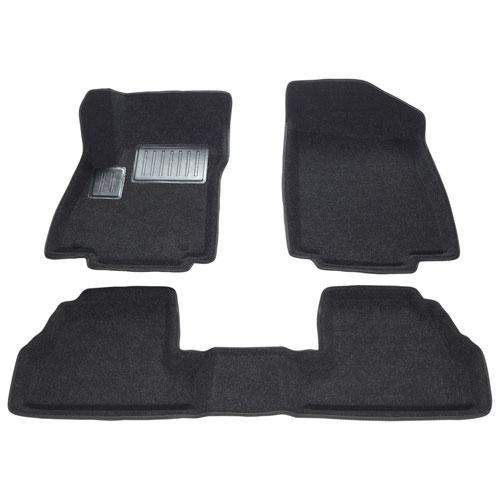 Findway 3D Floor Mats for 2013-2017 Buick Encore/Chevrolet Trax - (10090BB) - Black