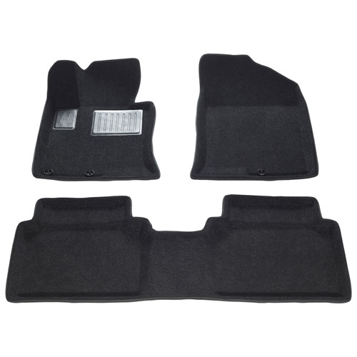 Findway 3D Floor Mats for 2011-2013 Kia Optima - Black