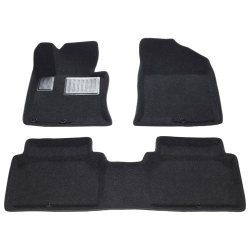 Findway 3D Car Floor Mats for 2013-2015 Kia Optima - Black
