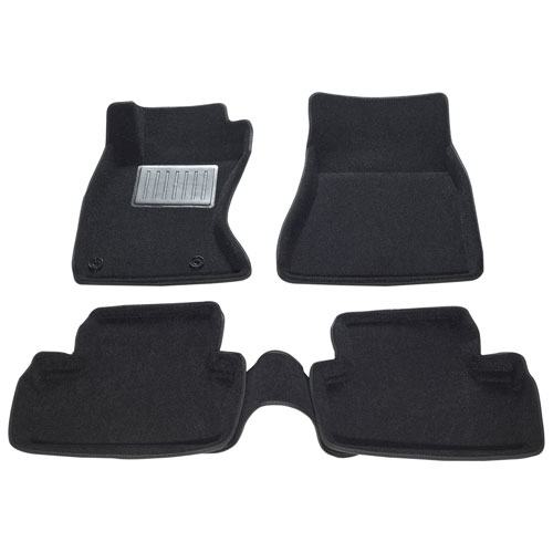 Findway 3D Floor Mats for 2006-2013 Lexus IS Sedan AWD - Black