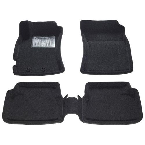 Tapis de sol 3D de Findway pour Subaru Forester 2009-2013 - Noir