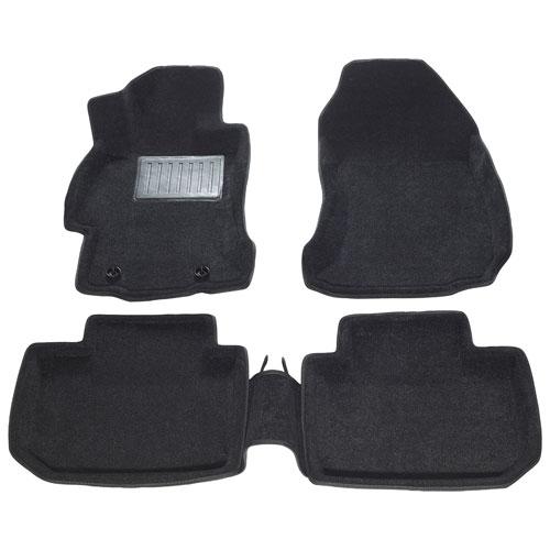 Tapis 3D Findway Subaru Impreza 12-16/Subaru 15-18 WRX STI/Subaru Crosstrek XV 13-17 (60120BB) -Noir