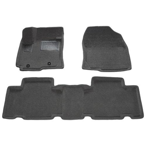 Tapis de plancher 3D de Findway pour Toyota RAV4 2006 à 2012 - Gris