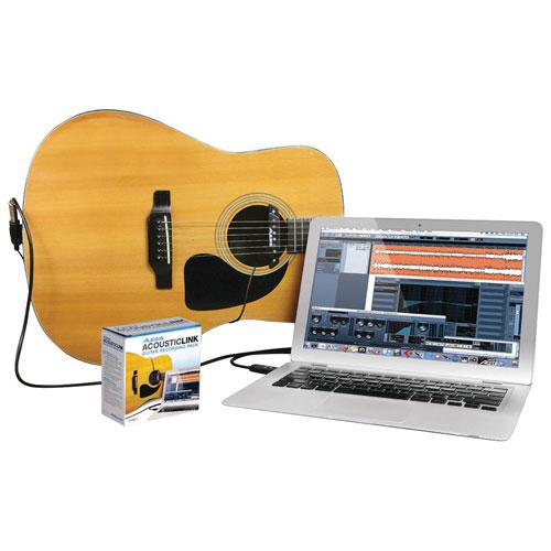 Ensemble d'enregistrement pour guitare AcousticLink d'Alesisk (ACOUSTICLIN)