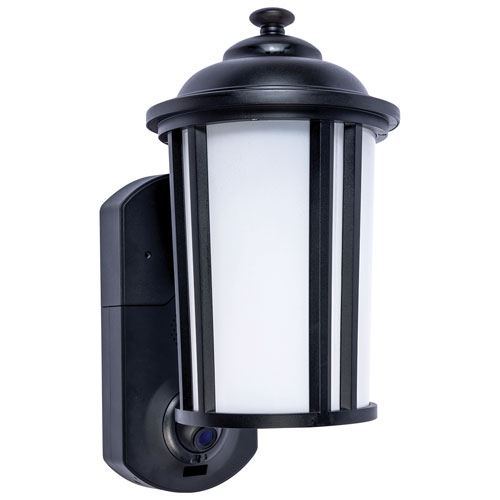Maximus Traditional Smart Security Light - Textured Black