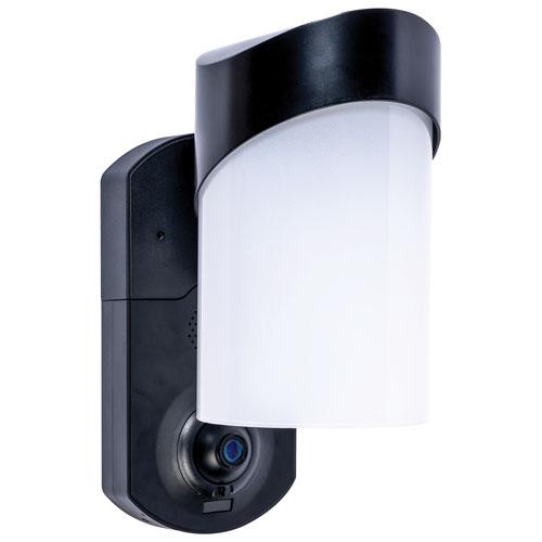 Maximus Contemporary Smart Security Light - Textured Black