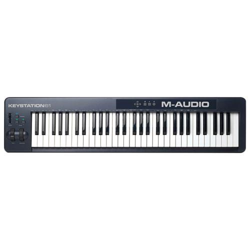 M-Audio Keystation II 61-Key Keyboard Controller with Ignite