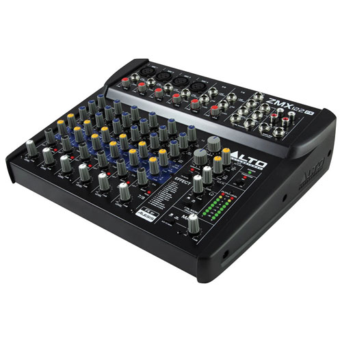 Alto Professional Zephyr 8-Channel Compact Mixer (ZMX122FX)