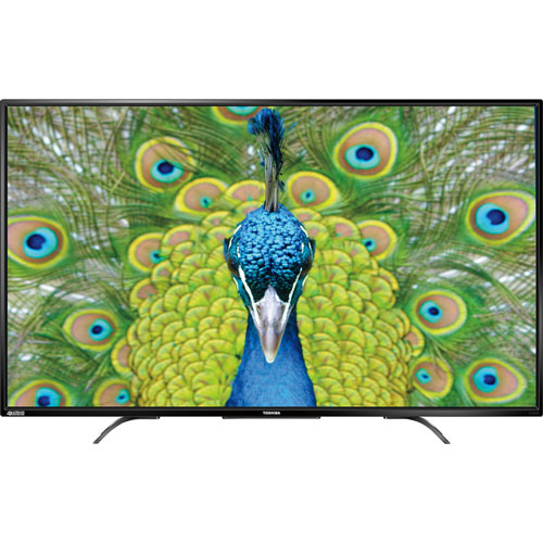 "Toshiba 49"" 4K UHD LED Chromecast Built-in TV (49L621U) - Only at Best Buy"