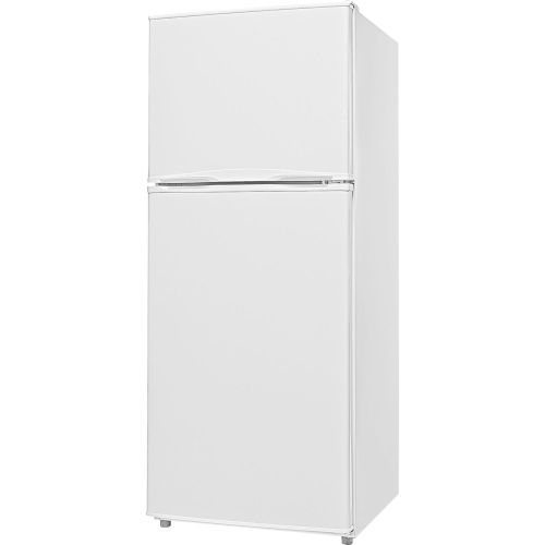 "Insignia 24"" 9.9 Cu. Ft. Top Freezer Refrigerator (NS-RTM10WH7-C) - White"