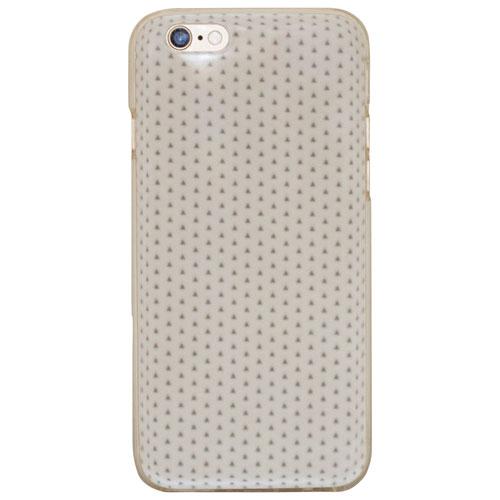 Étui souple ajusté de Moda pour iPhone 6/6s - Triangle - Blanc