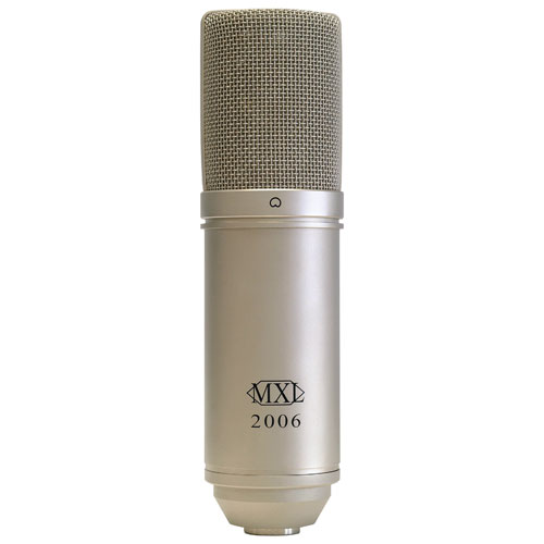 Microphone à condensateur à FET large de MXL (MXL2006)