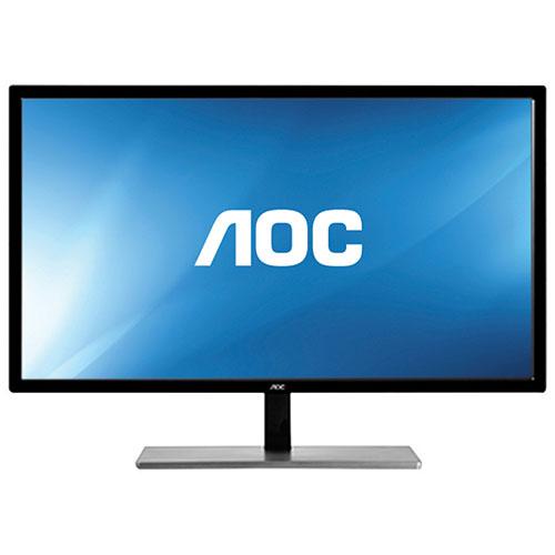 "AOC 28"" 4K UHD 60Hz 1ms GTG LED FreeSync Gaming Monitor (U2879VF) - Black/Silver"