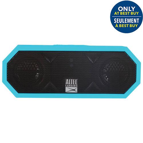 Altec Lansing Jacket H2O Waterproof/Shockproof Bluetooth Wireless Speaker - Aqua Blue - Only at Best Buy