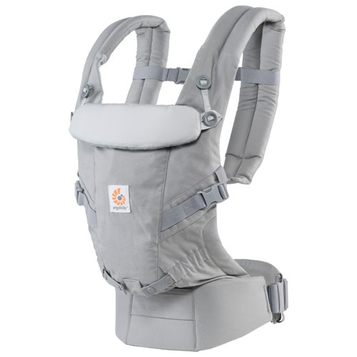 b80e32a6b34 Ergobaby ADAPT Three Position Baby Carrier - Pearl Grey   Baby Carriers -  Best Buy Canada