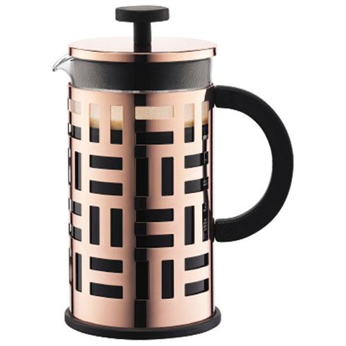 Cafetière à piston Eileen de Bodum - 8 tasses - Cuivre