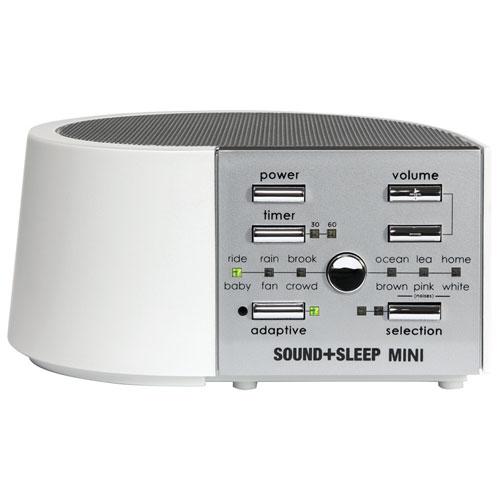 Machine Sound+Sleep Mini - Blanc - Argenté