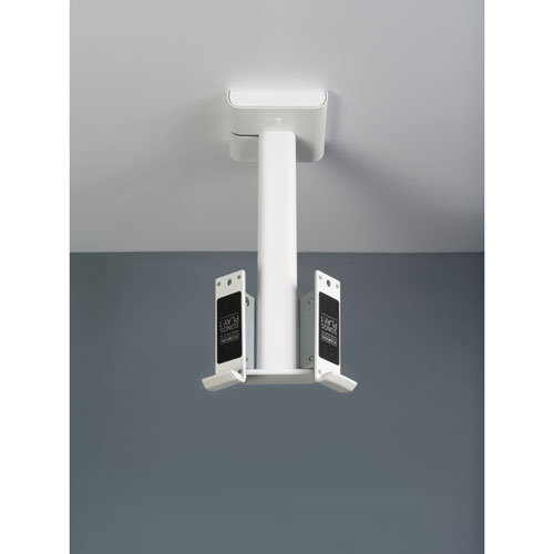 Flexson PLAY:1 Dual Ceiling Mount - White