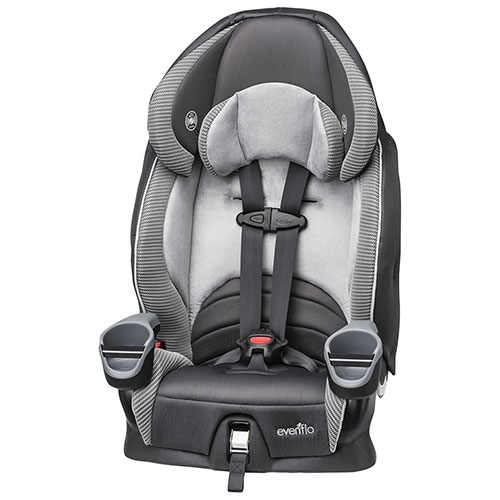 evenflo maestro booster car seat black grey booster car seats best buy canada. Black Bedroom Furniture Sets. Home Design Ideas