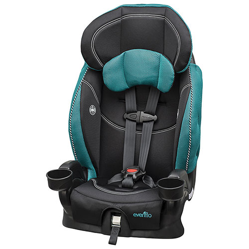 evenflo chase lx booster car seat green black booster car seats best buy canada. Black Bedroom Furniture Sets. Home Design Ideas