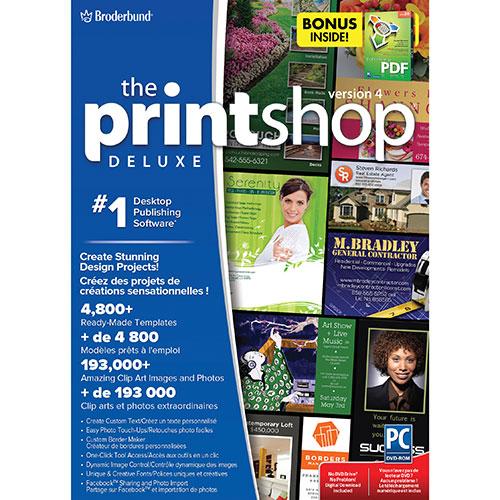 The Print Shop Deluxe 4 d'Encore avec Everything PDF (PC)