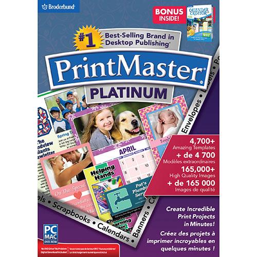 Encore PrintMaster v7 Platinum with Calendar Creator (PC)