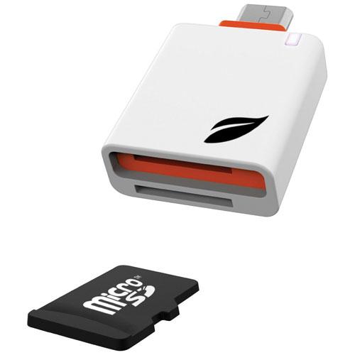 Lecteur de carte microSD de Leef Access pour téléphones et tablettes Android