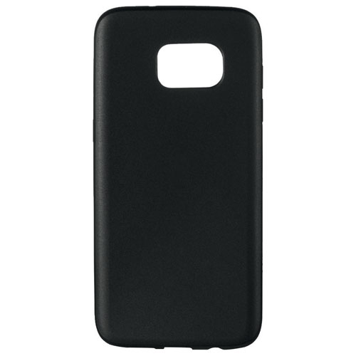 Insignia Samsung Galaxy S7 Edge+ Fitted Soft Shell Case - Black