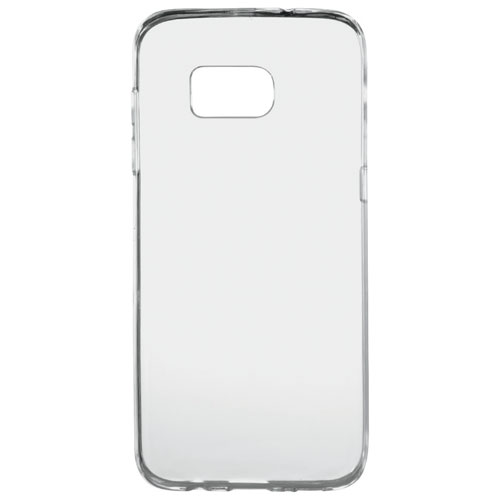 Insignia Samsung Galaxy S7 Edge+ Fitted Soft Shell Case - Clear
