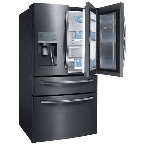 Samsung 36 Quot 27 8 Cu Ft French Door Refrigerator With Led