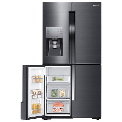 Réfrigérateur à Portes Po Pi De Samsung Avec éclairage - Refrigerateur 4 portes