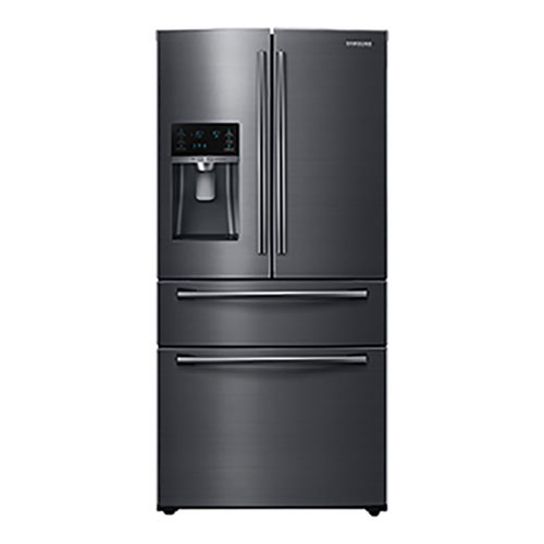Samsung 33 Quot 24 7 Cu Ft 4 Door French Door Refrigerator