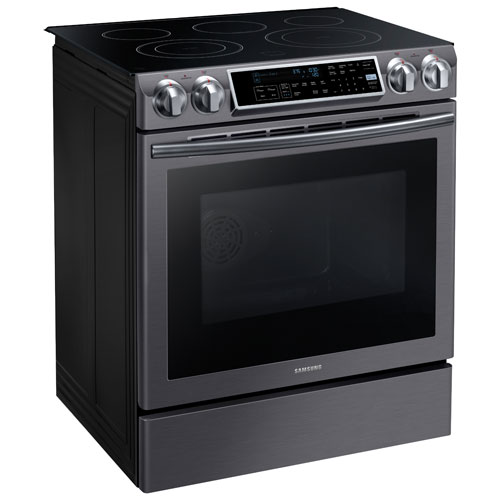 Samsung 30 Quot 5 8 Cu Ft Slide In Smooth Top Electric Range