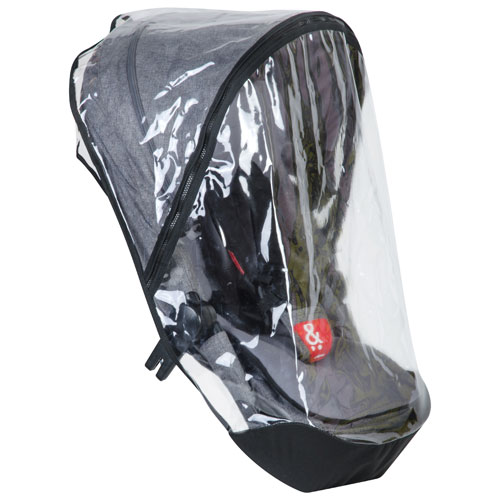 phil&teds voyager Double Kit Storm/Rain Cover - Clear