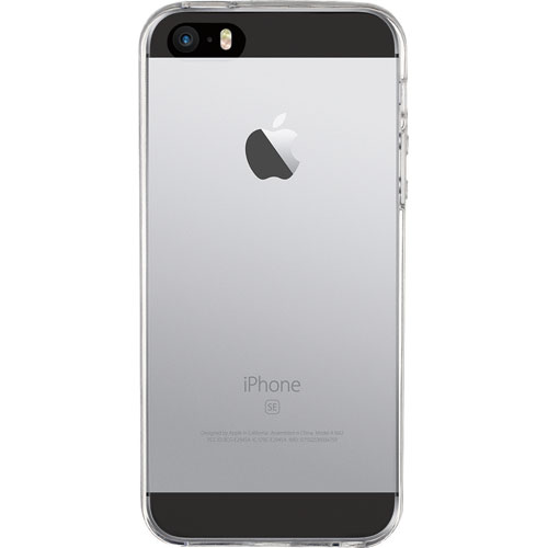 Insignia iPhone 5s/SE Fitted Soft Shell Case - Clear