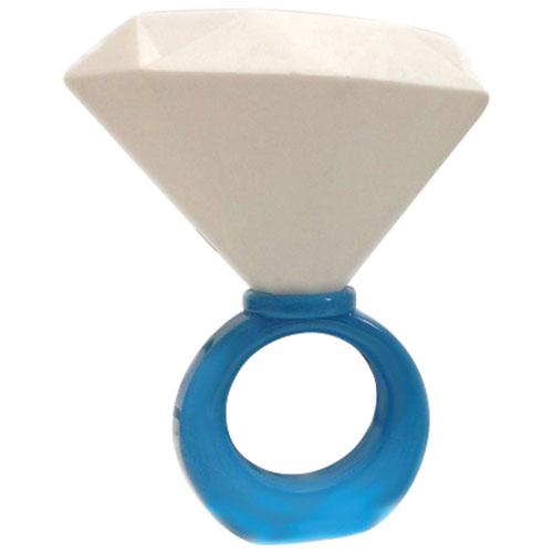 Lampe de chevet en forme de diamant de mmnox bleu for Interrupteur lampe de chevet