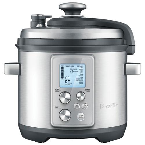 Breville The Fast Slow Pro Multi Cooker 6 3qt Pressure