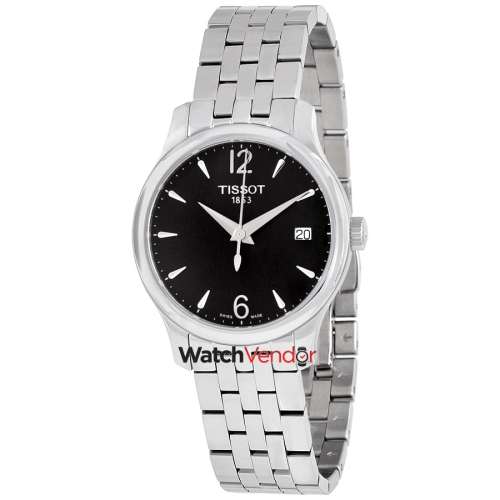Tissot T-Classic Tradition Black Dial Ladies Watch T0632101105700   Womens  Watches - Best Buy Canada 4f4570bc7bc