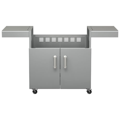 BroilChef Premium Replacement Cart for BCP-500S/BCP-500L Grills (BCP4B-CART) - Silver