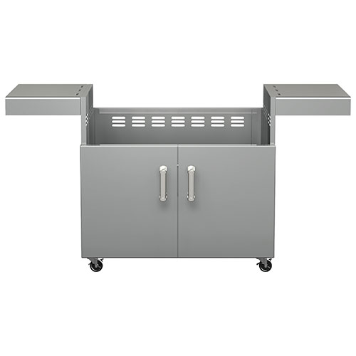 BroilChef Premium Replacement Cart for BCP-600S/BCP-600L Grills (BCP5B-CART) - Silver