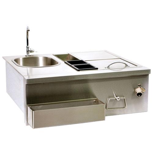 Broilchef Premium Stainless Steel Sink Bartender Station