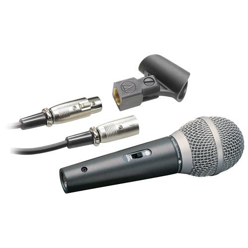 Audio-Technica Cardioid Dynamic Vocal/Instrument Microphone (ATR1500)