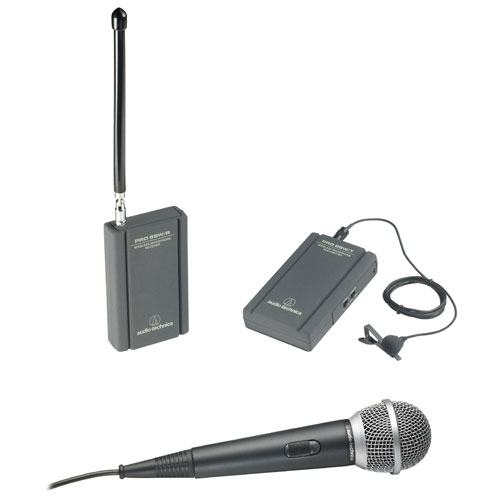 Audio-Technica TwinMic VHF Wireless Microphone System (ATR288W)