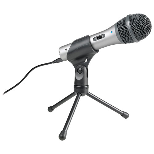 Microphone USB/XLR dynamique cardioïde d'Audio-Technica (ATR2100USB)