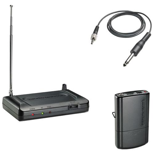 Système de guitare sans fil VHF d'Audio-Technica (ATR7100G-T2)
