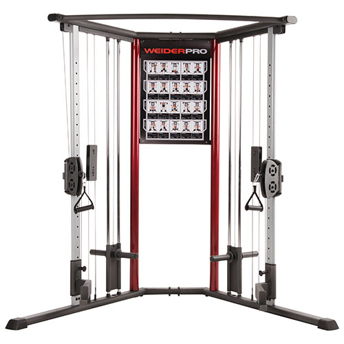 Weider Pro Cable Trainer Home Gym : Home Gym Equipment
