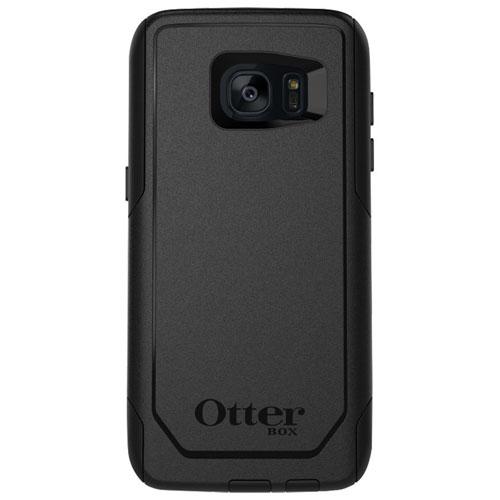 Étui rigide ajusté Commuter d'OtterBox pour Galaxy S7 Edge de Samsung - Noir